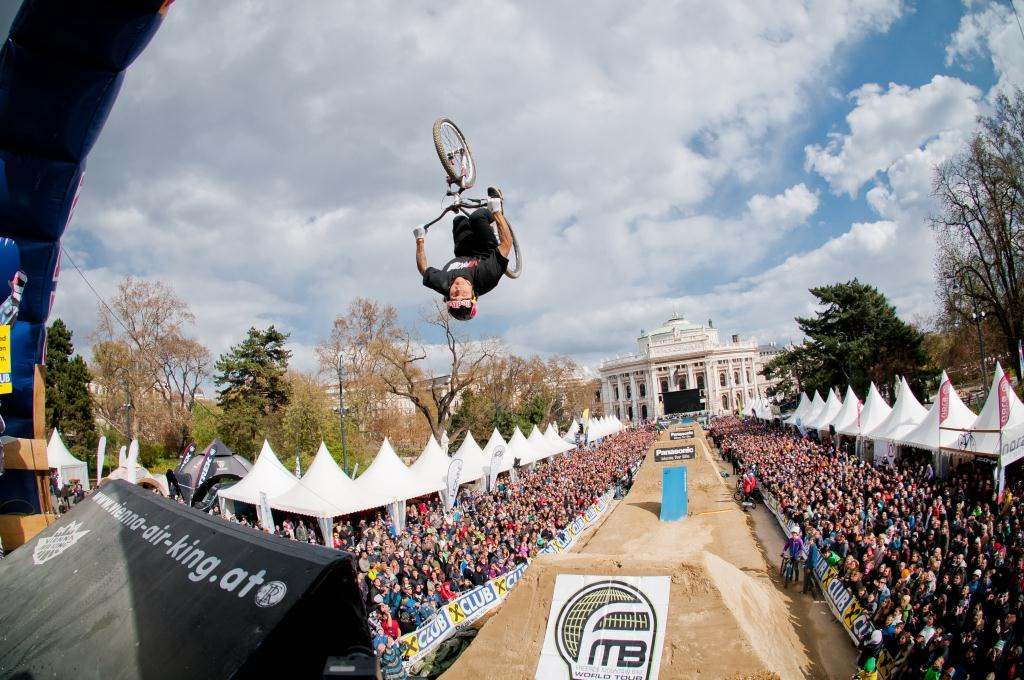 Andreu Lacondeguy beim Vienna Air King 2012