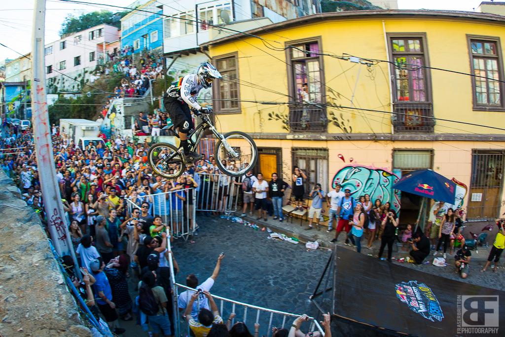 Yannick Wende aus Bolivien rockt das Hotel Gap. Grip it and Rip it!