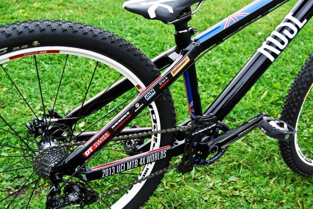 Rose 4X Worlds Bike Katy Curd