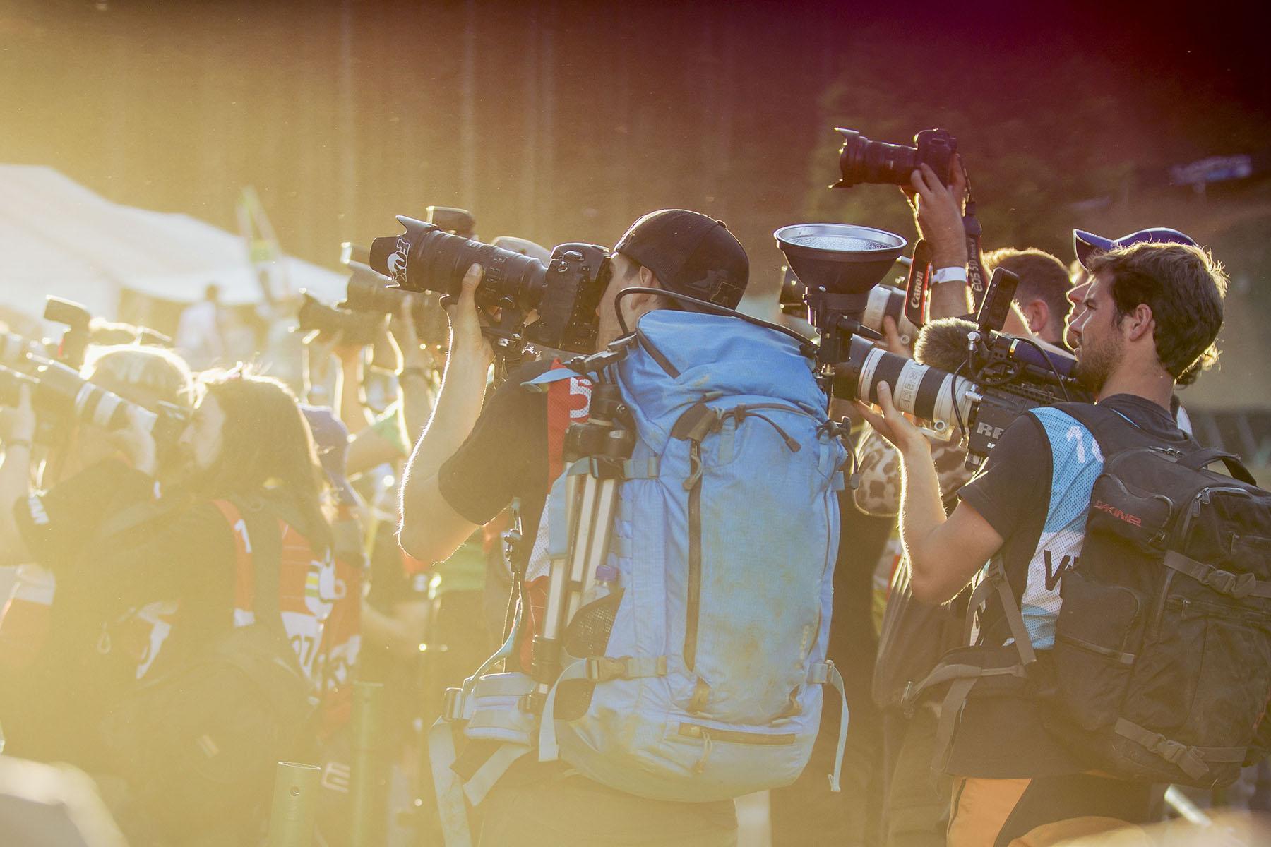 Medienrummel um den neuen Weltmeister