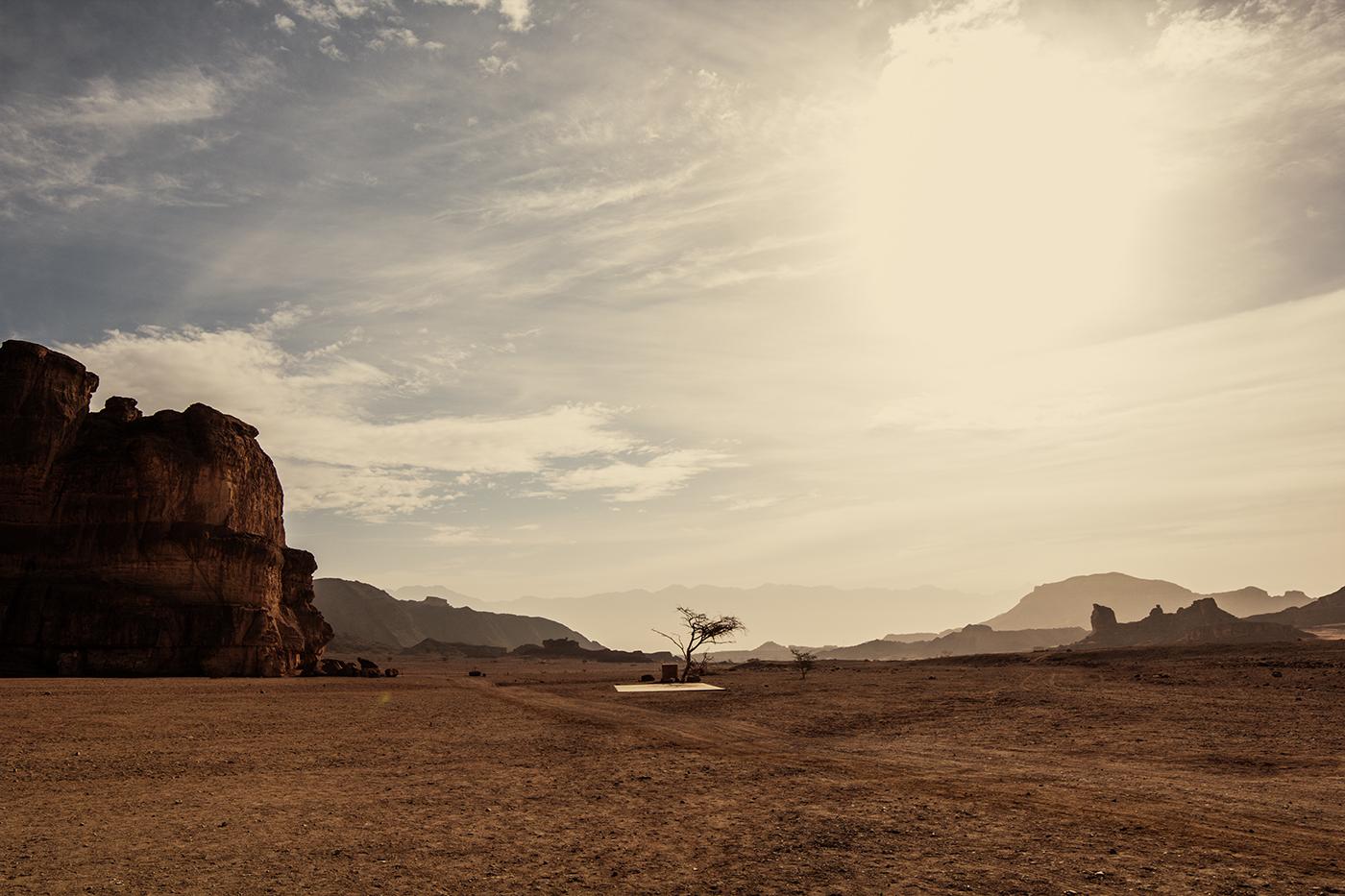 Erinnert ein wenig an die Wüste in Utah!