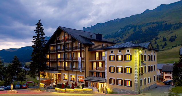 Bike-Hotel Alpina in der Lenzerheide