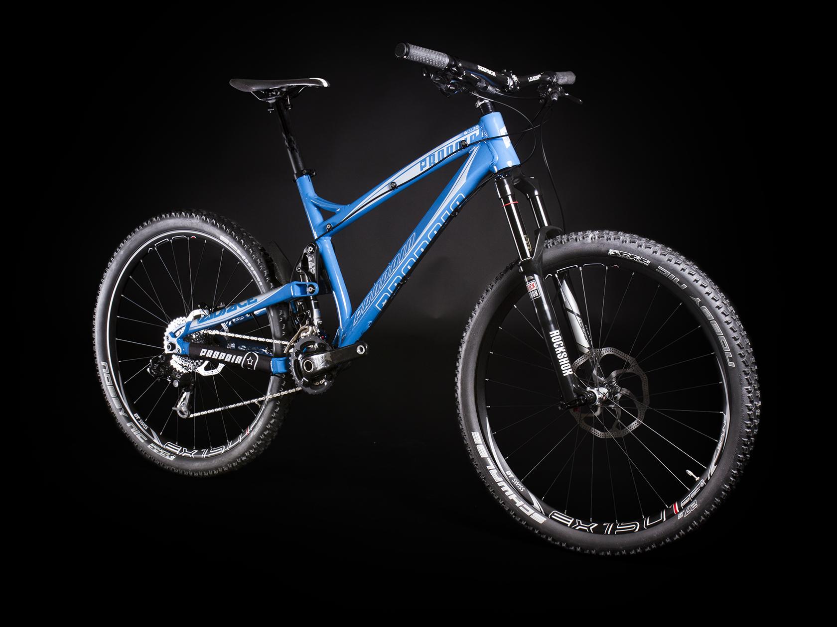 PROPAINS neues All Mountain Bike - das TWOFACE