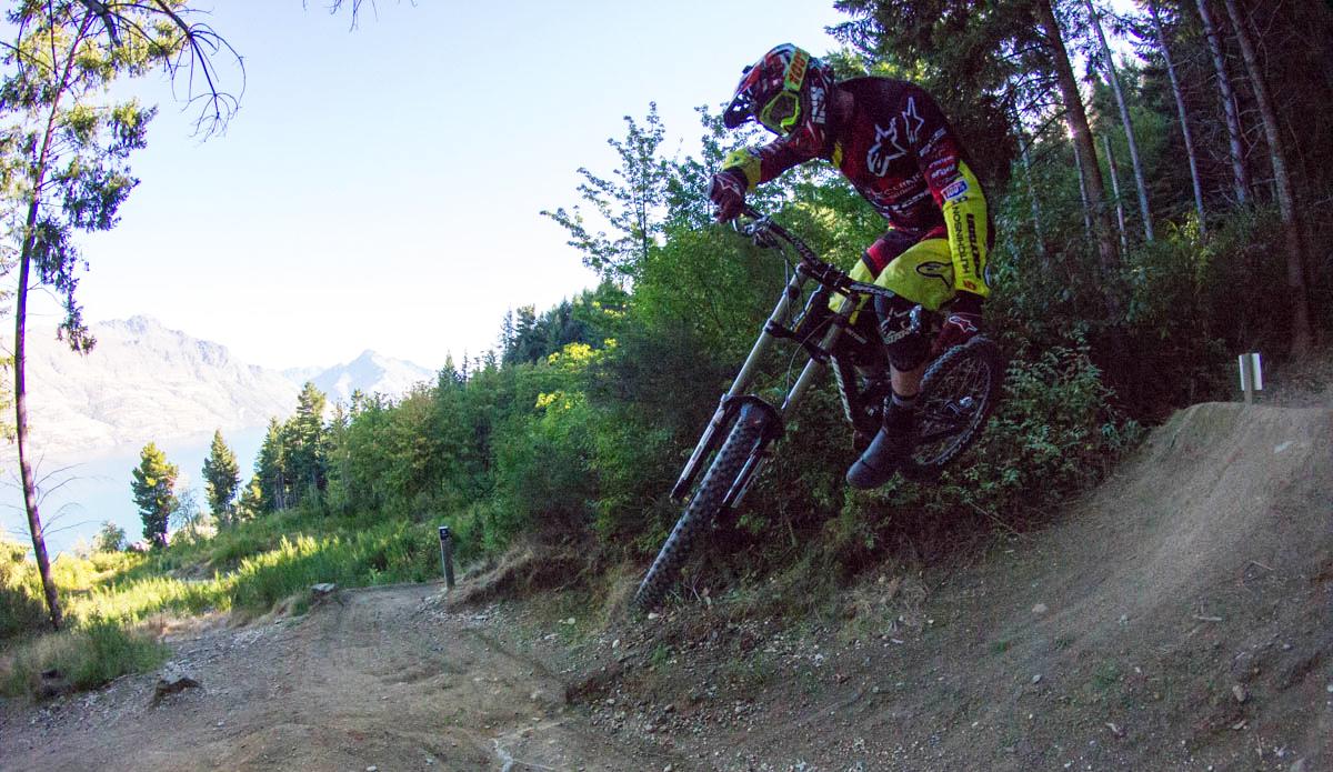Bike-Testing im sonnigen Neuseeland!