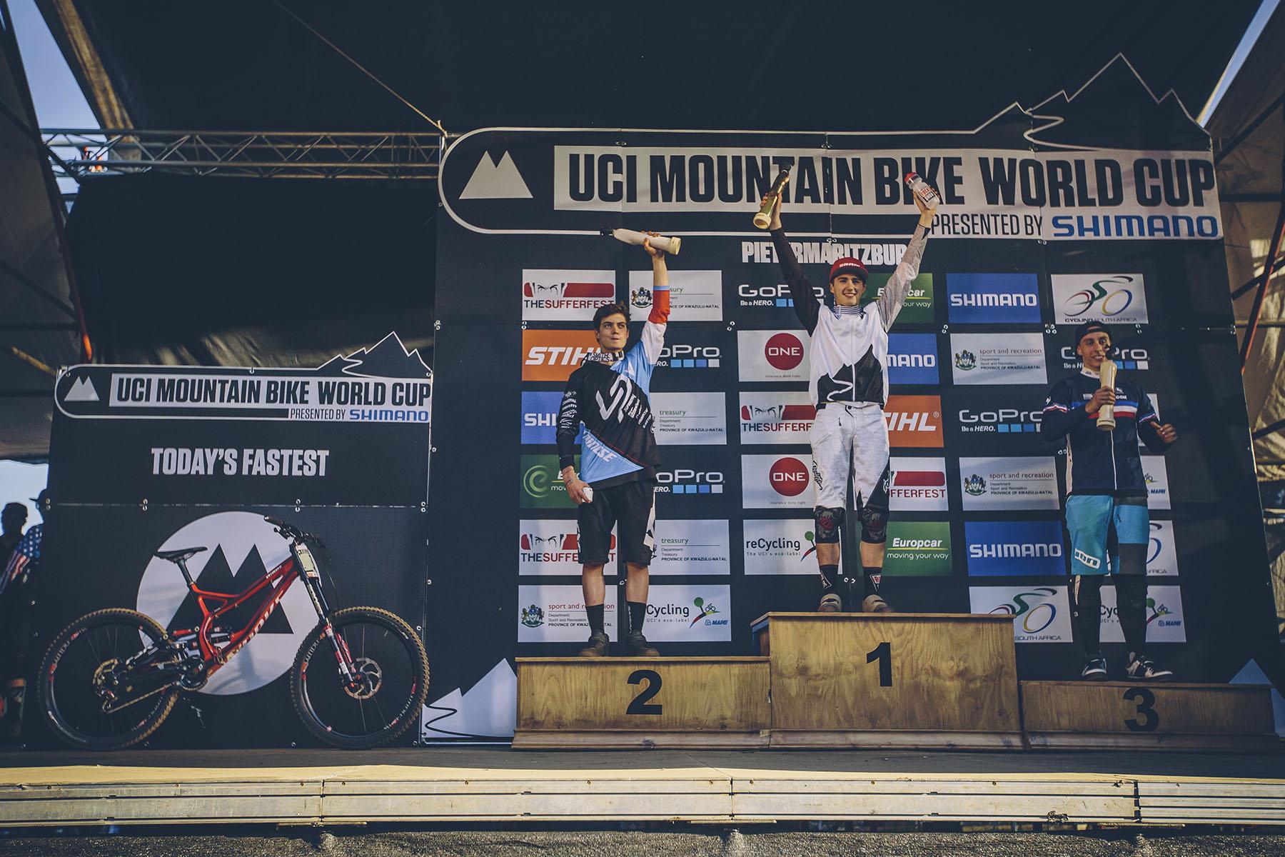 Bei den Junioren gewannen Luca Shaw, Loris Vergier und Amaury Pierron.