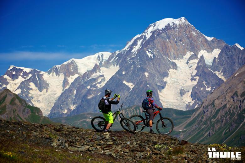 Anka und Sven Martin unterwegs in La Thuile