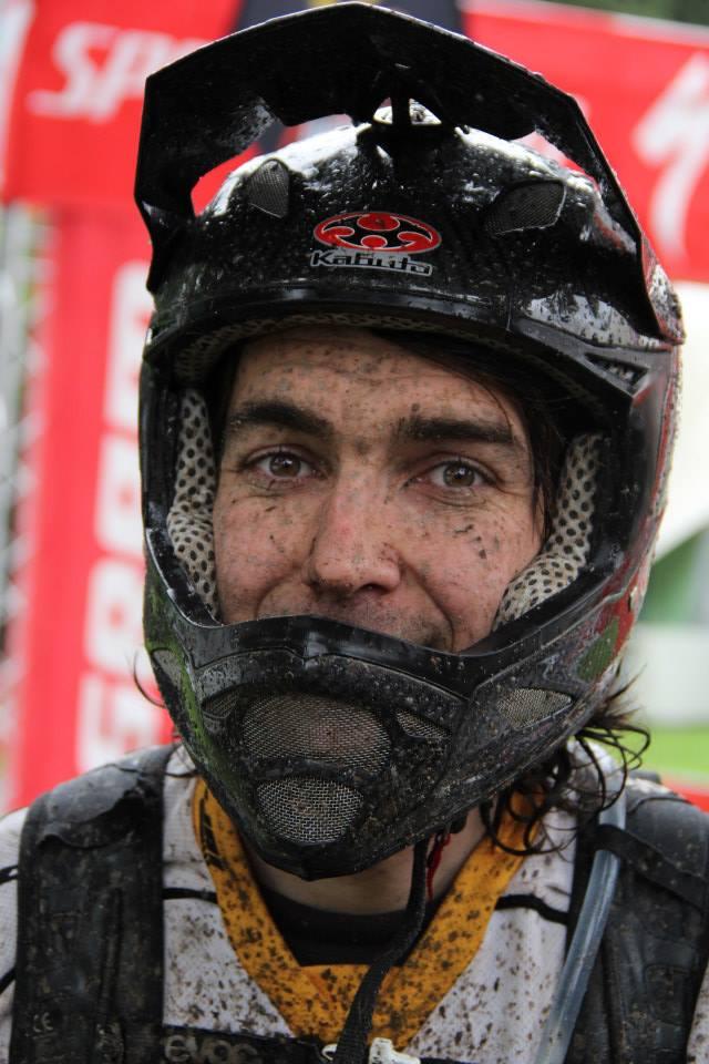 Daniel Jahn vom Nicolai Team nach dem Rennen!
