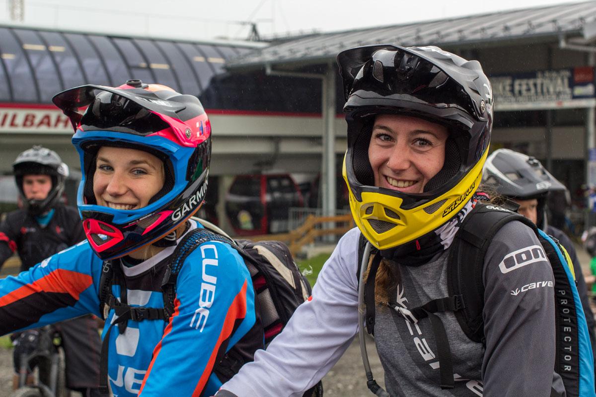 Laura Brethauer und Steffie Teltscher