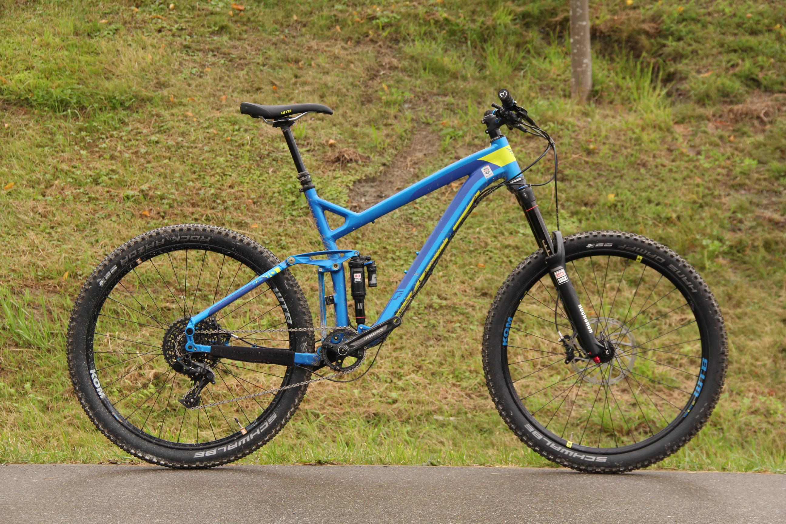FELTs überarbeitete Version des Enduro-Bikes