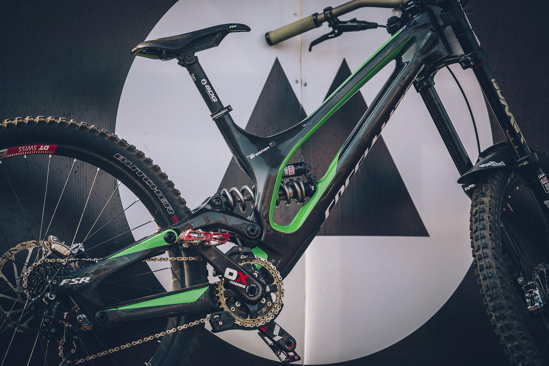 The new bike served the Specialized team well this round, but with feedback from the riders they have a week now to make some tweaks and fine tune her for Windham next week. As a team you always want to see its maiden race be a win but Im sure it wont take long for one of them to make it happen.