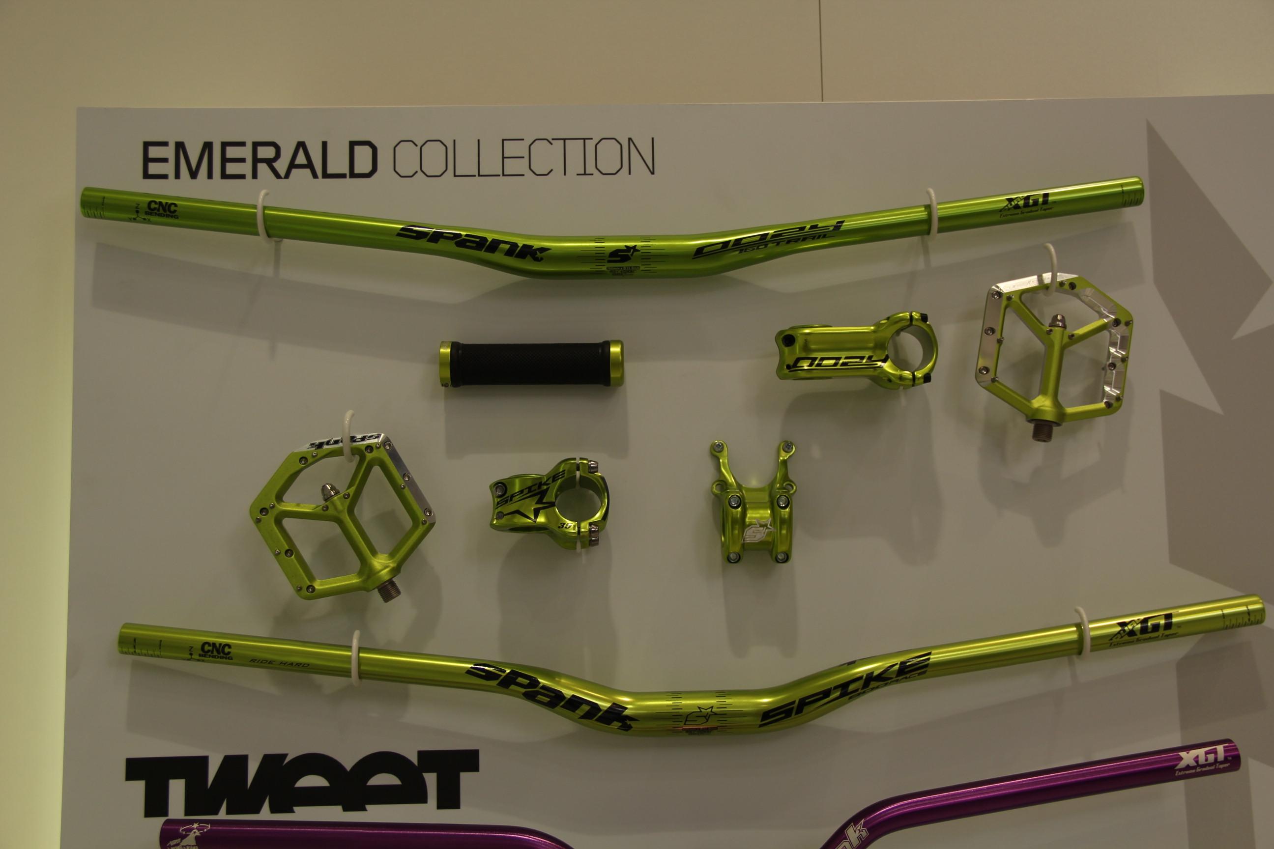 Spank Emerald Collection passend zur DVO Emerald Gabel
