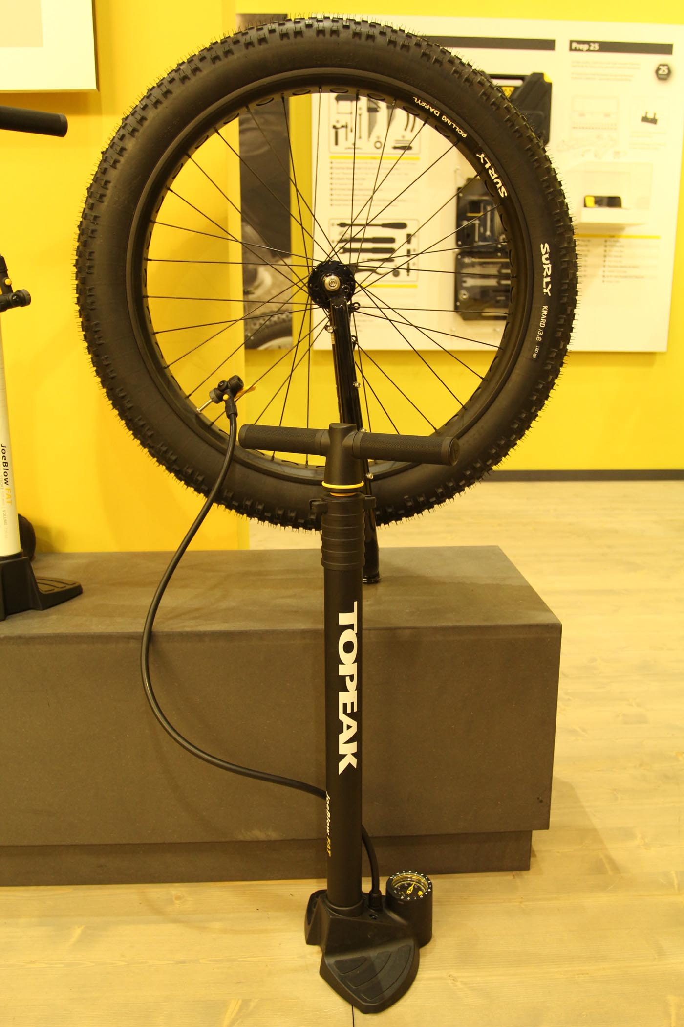 Fat Bike Pumpe von Topeak