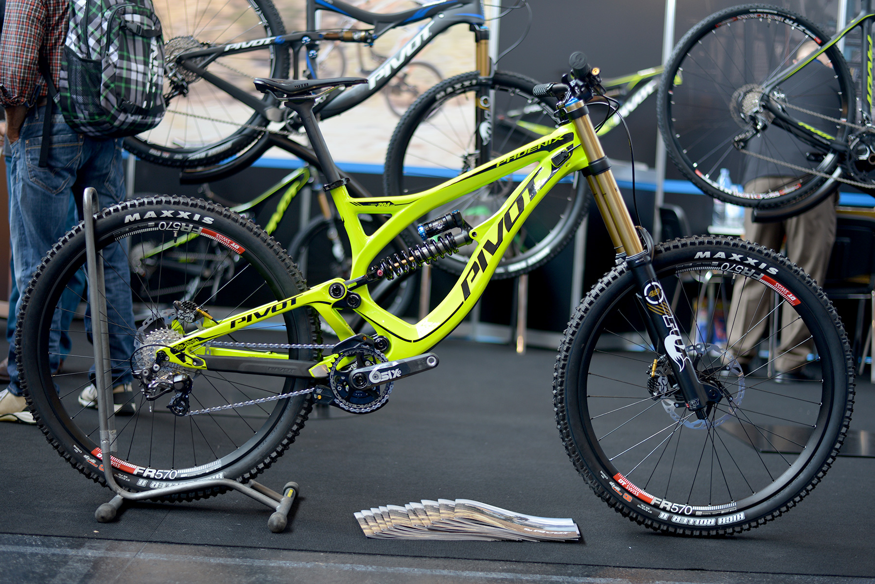 Das neue Downhill Bike von Pivot!