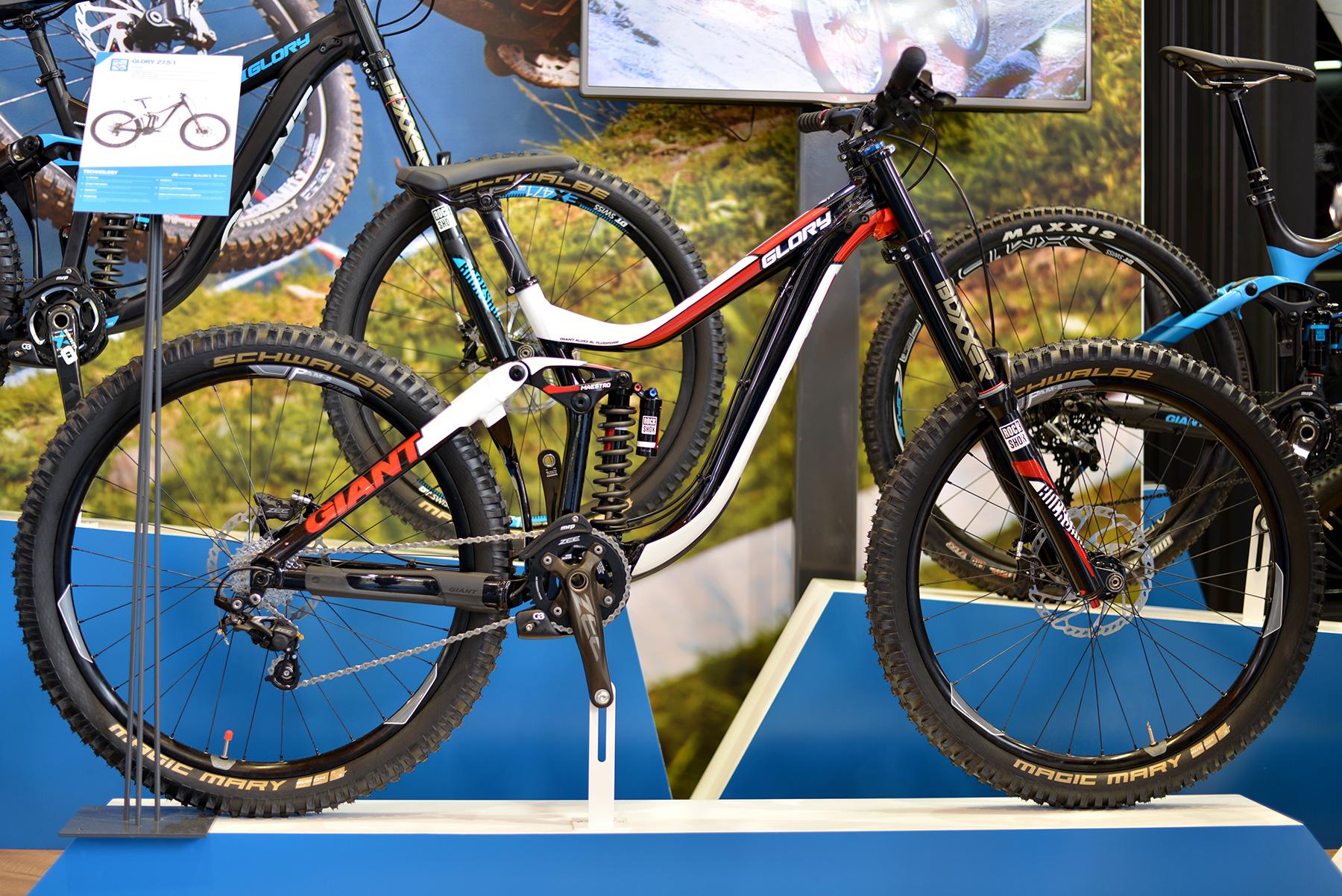 Giant Glory mit 27.5 Laufrädern