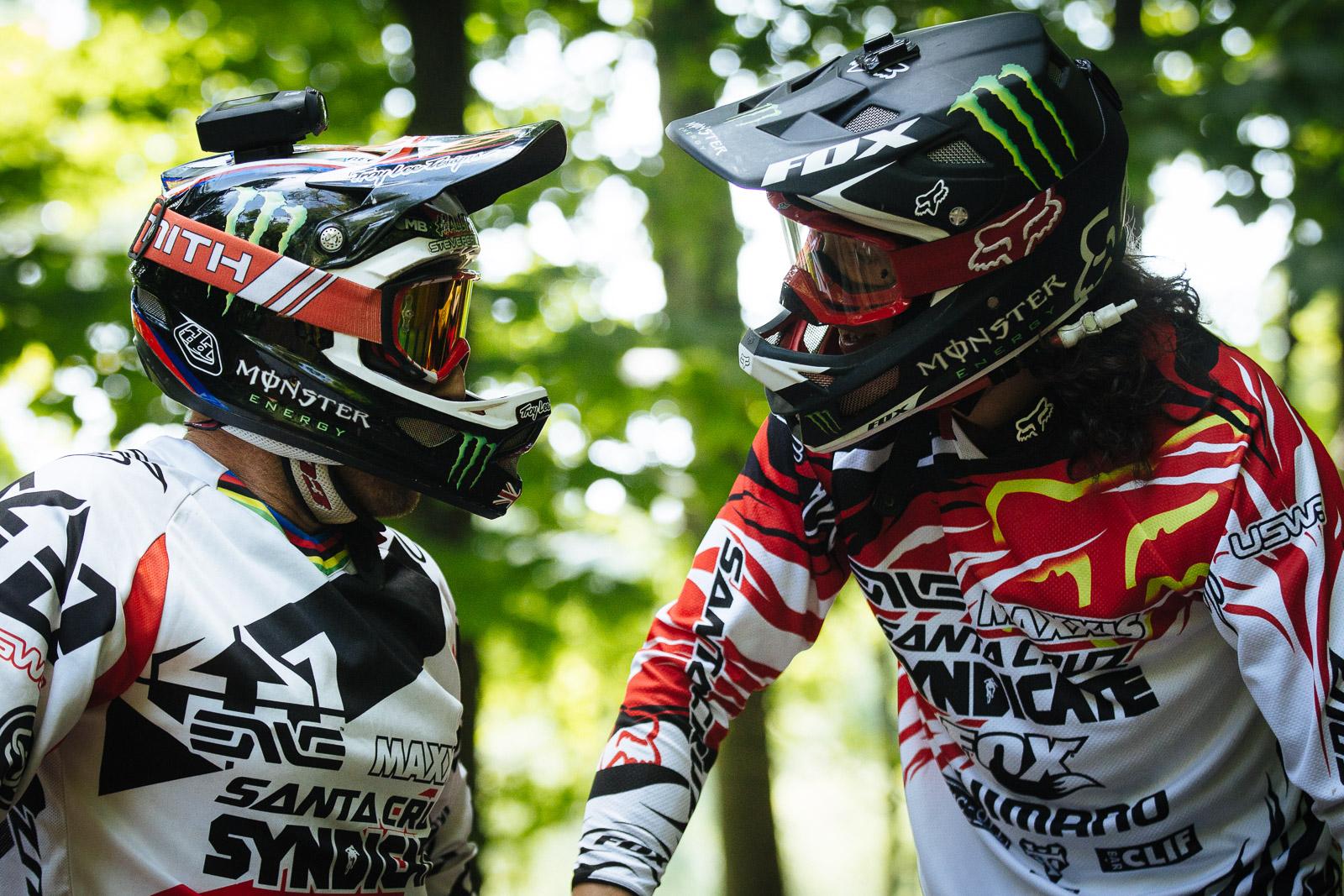 Josh und Steve beim Qualifying in Windham