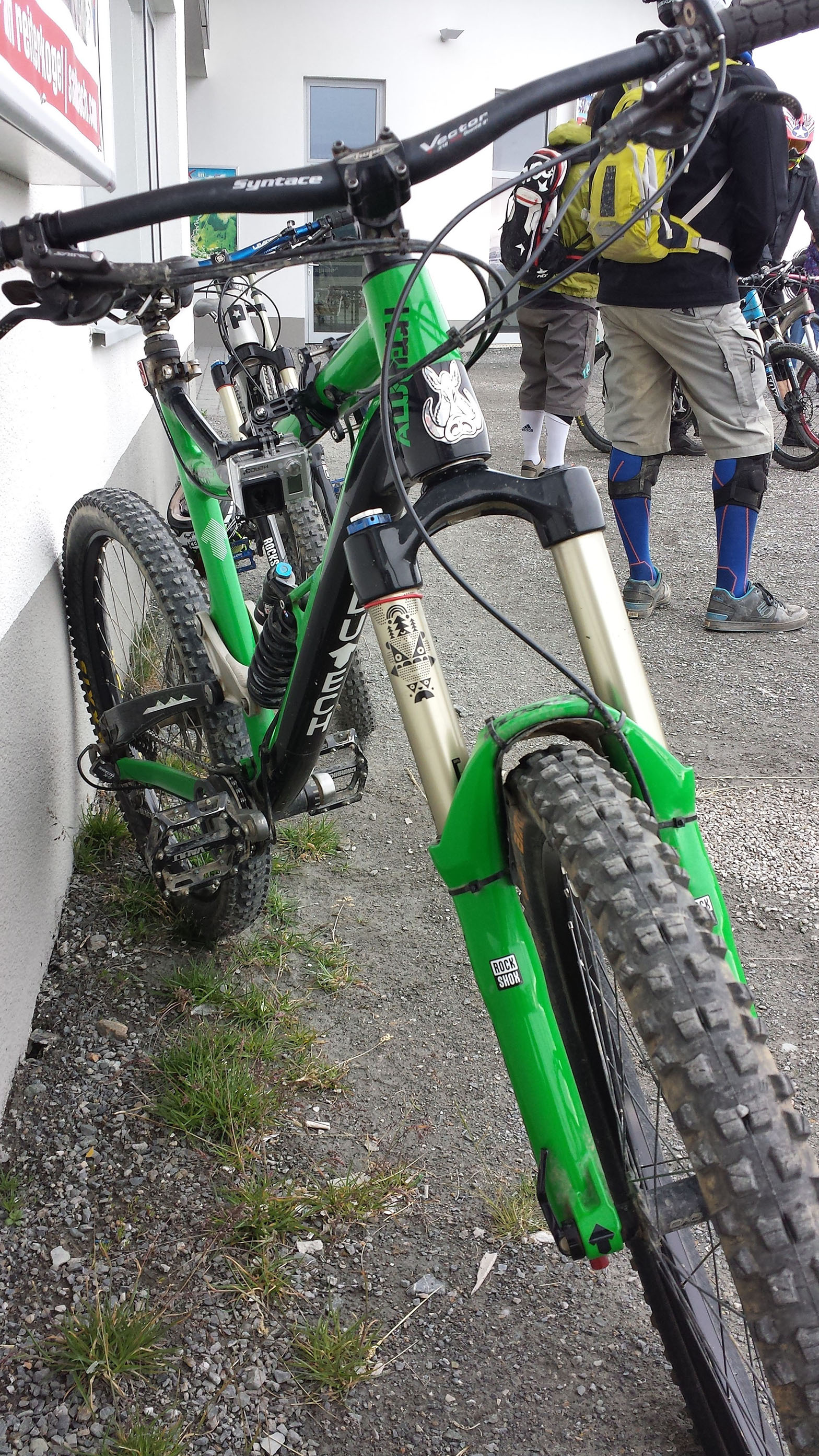 User Bike Check - Christophers Alutech Fanes Enduro
