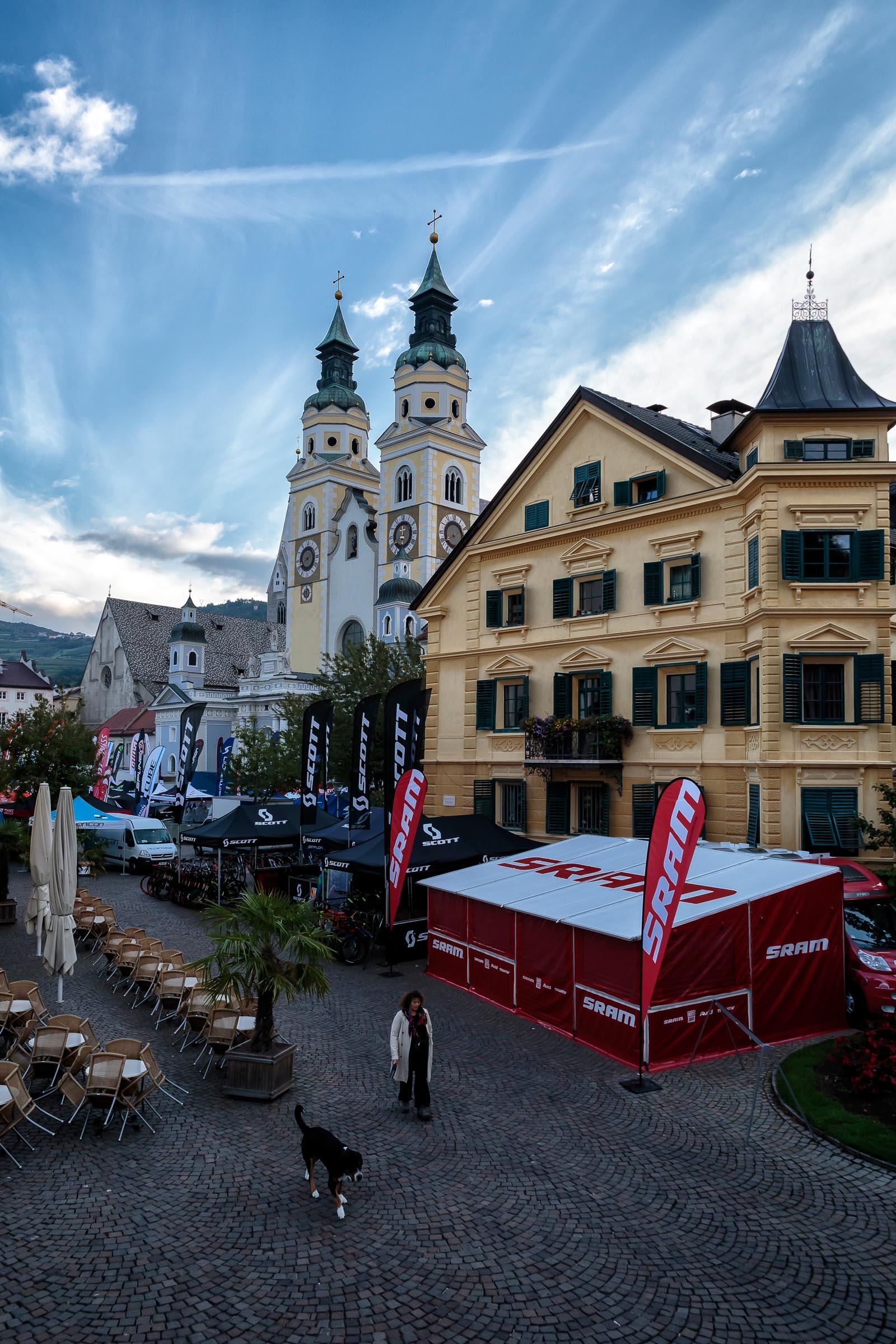 Brixen hat eine wunderschöne Altstadt ©Arkadiusz Obszynski