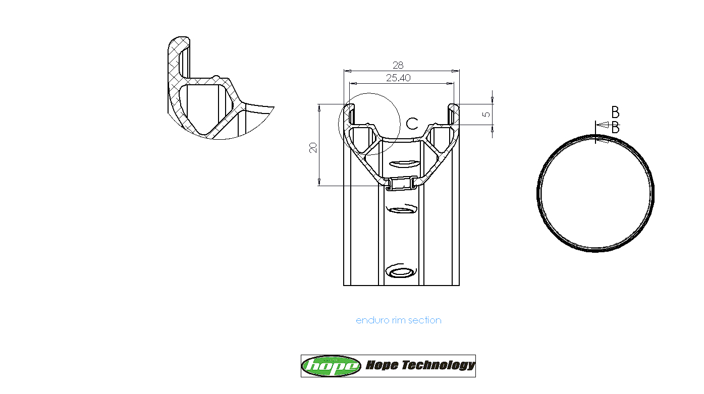 Hope Laufrad Technische Details