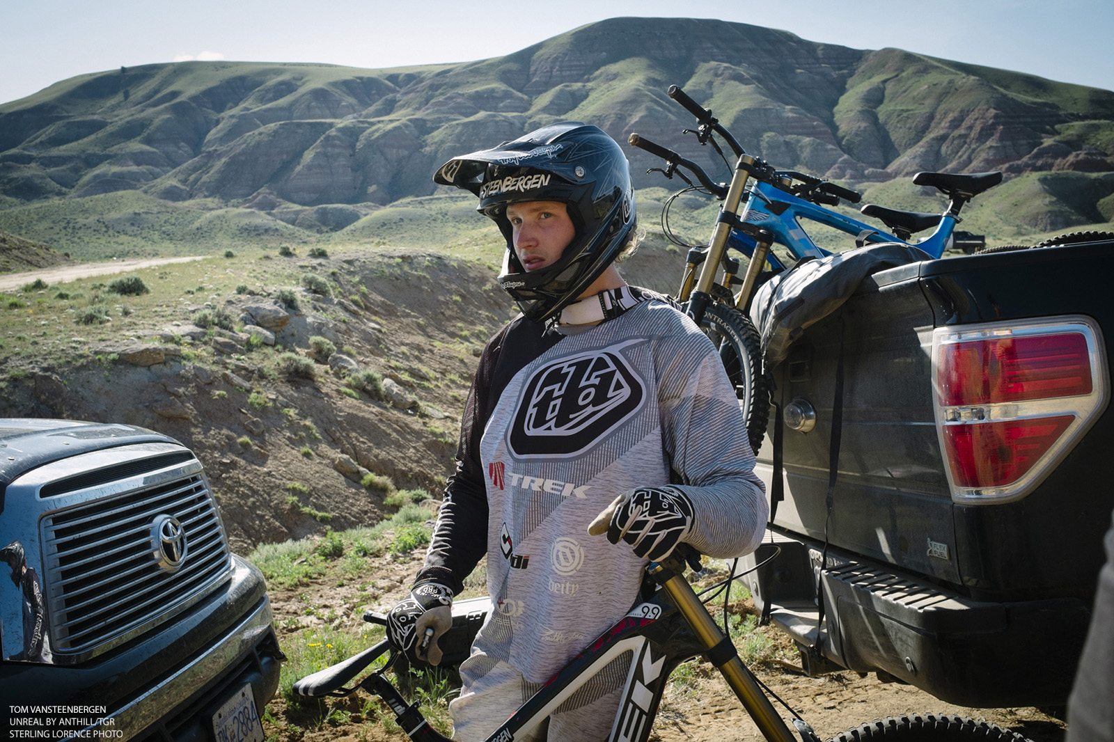 Tom VanSteenbergen successful bid at 70 foot front flip at Turtle Ranch, Wyoming.
