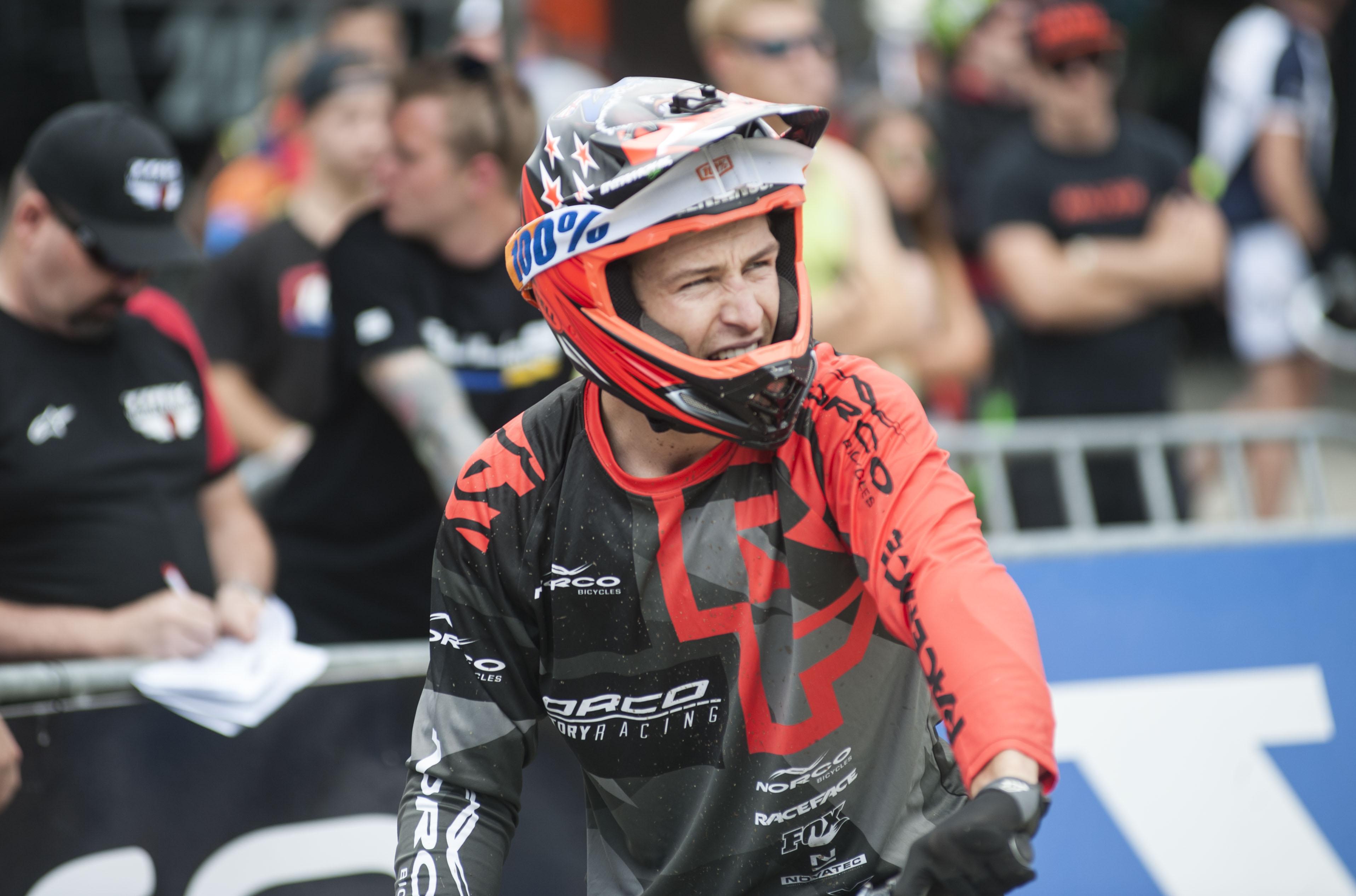 Sam Blenkinsop fährt sich auf den 16. Platz.