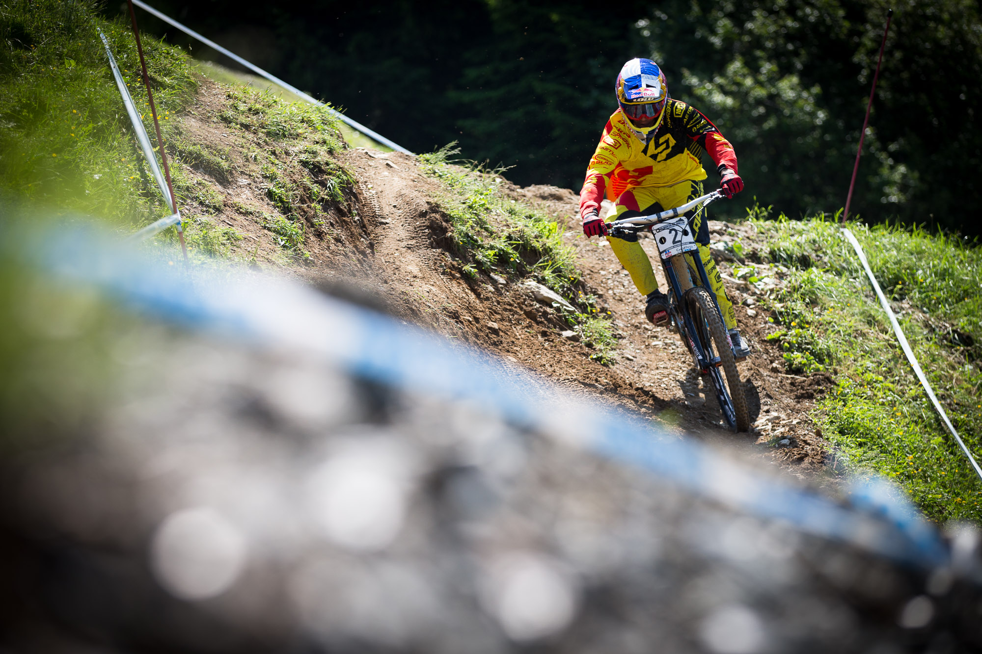 World Cup Leogang Training