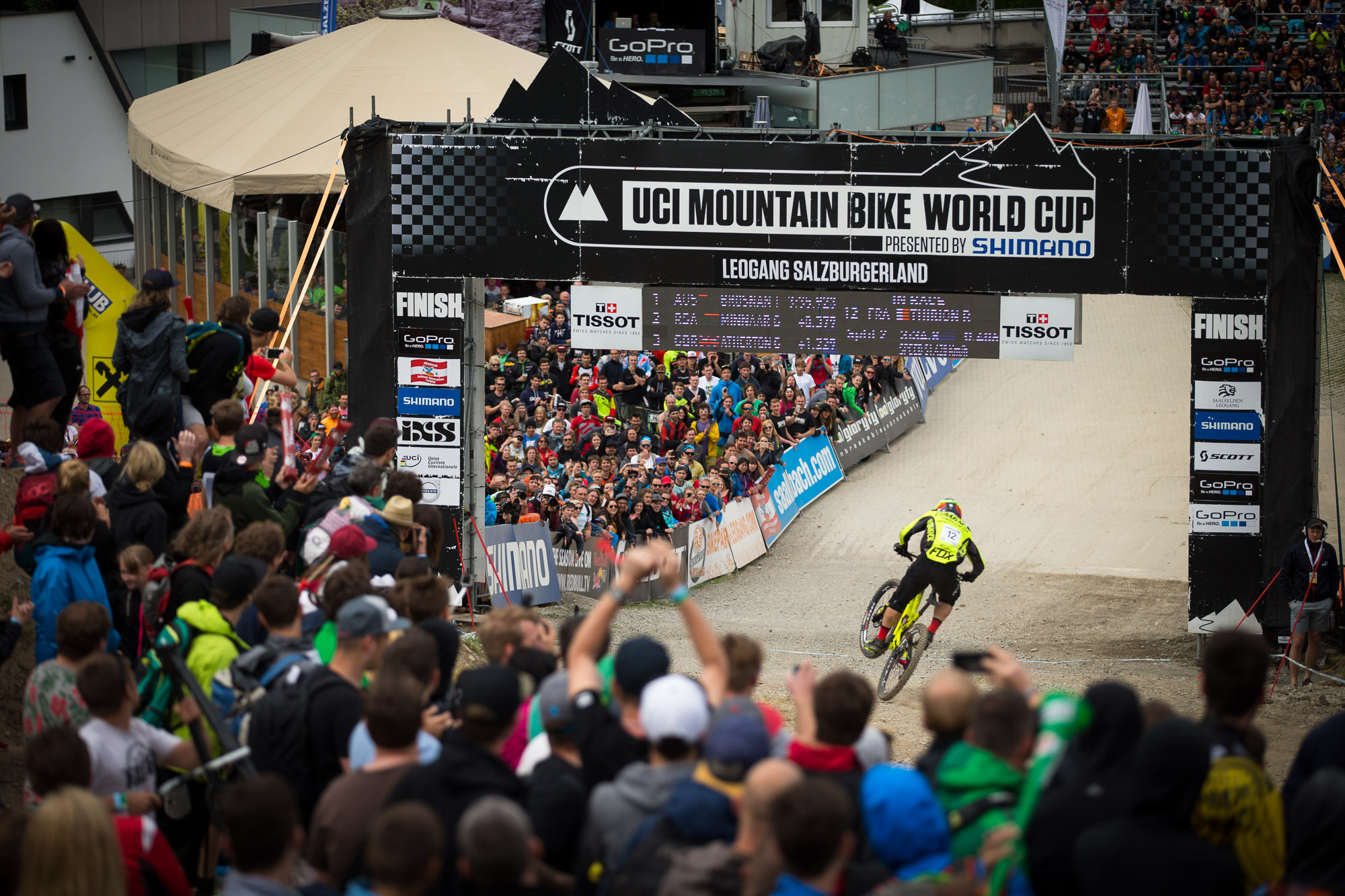 World Cup Leogang Remi Thirion
