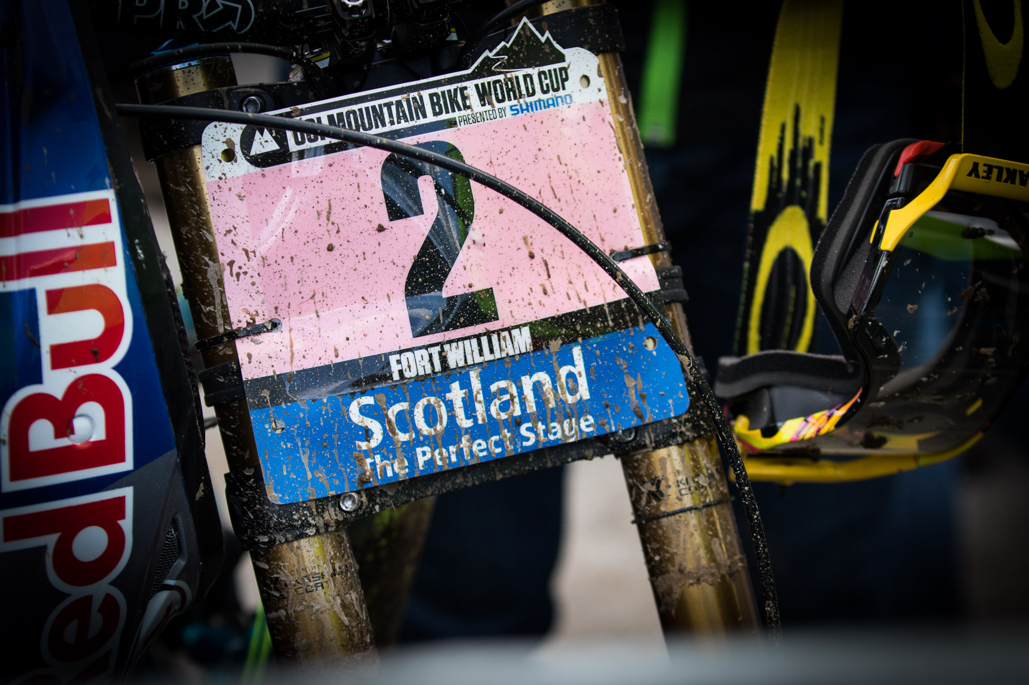 Downhill World Cup Fort William