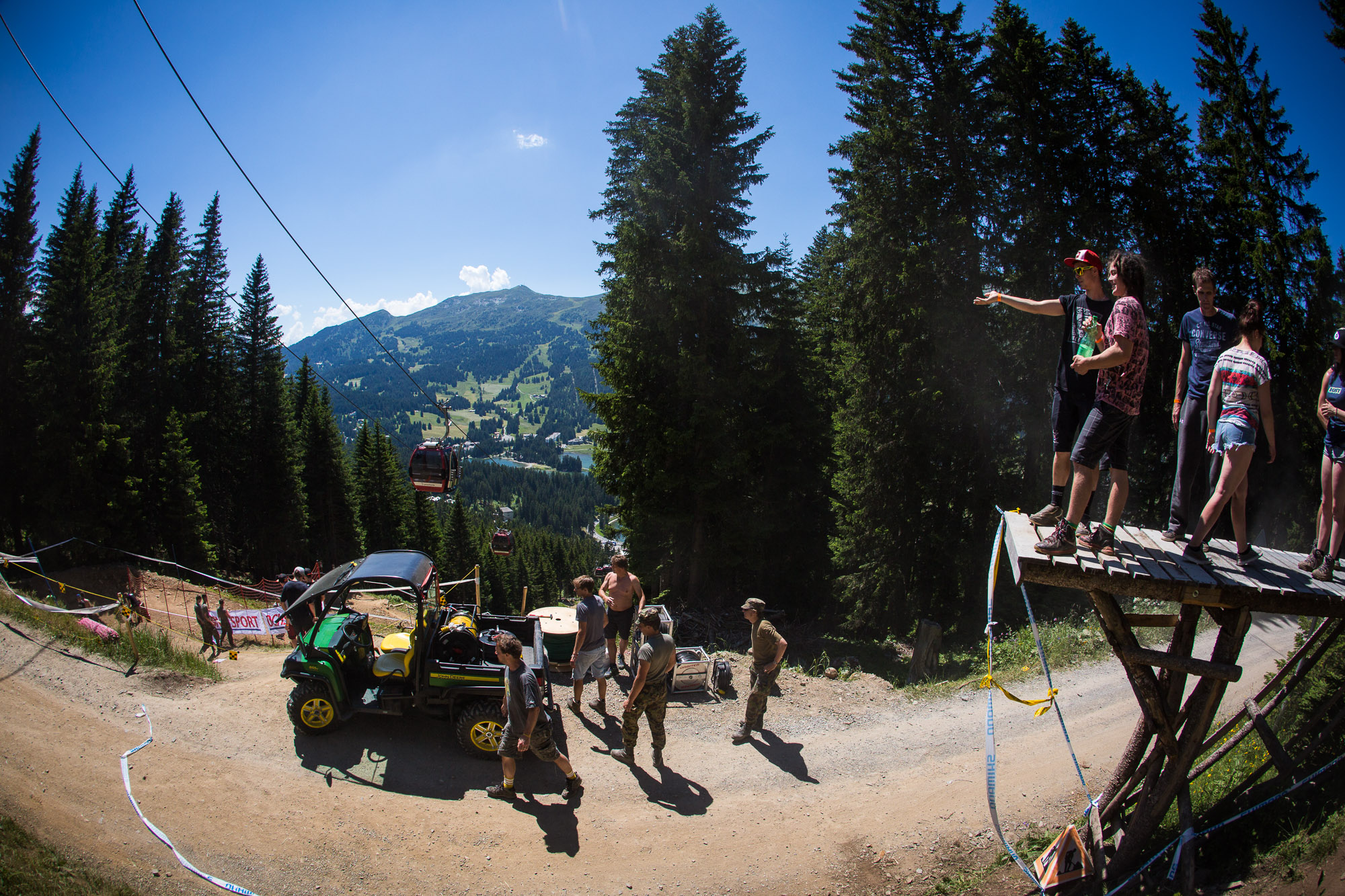 Downhill World Cup Lenzerheide 2015