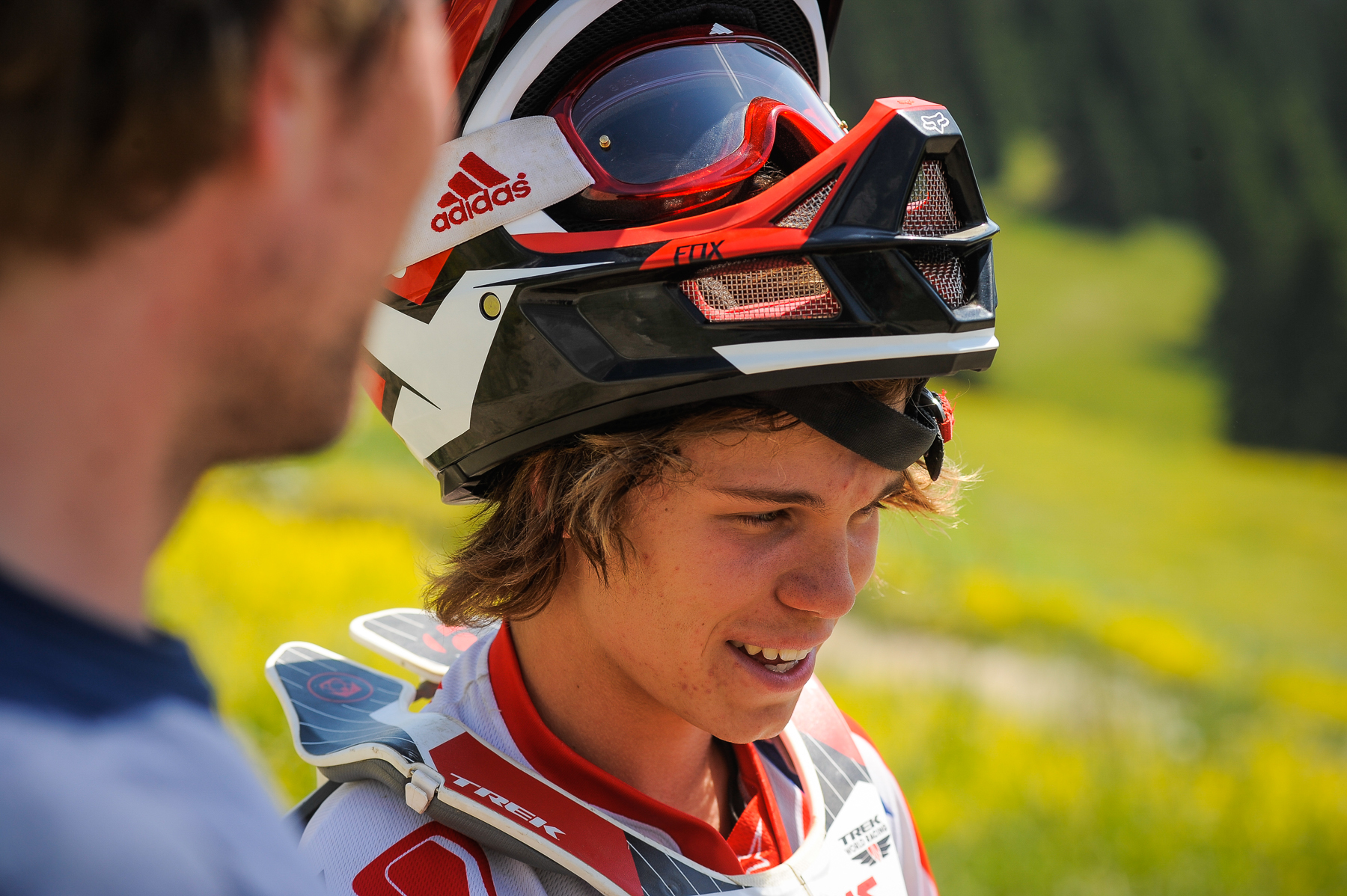 Trek World Racing's Laurie Greenland hatte ziemlich viele technische Probleme, wurde aber Drittschnellster im Training.