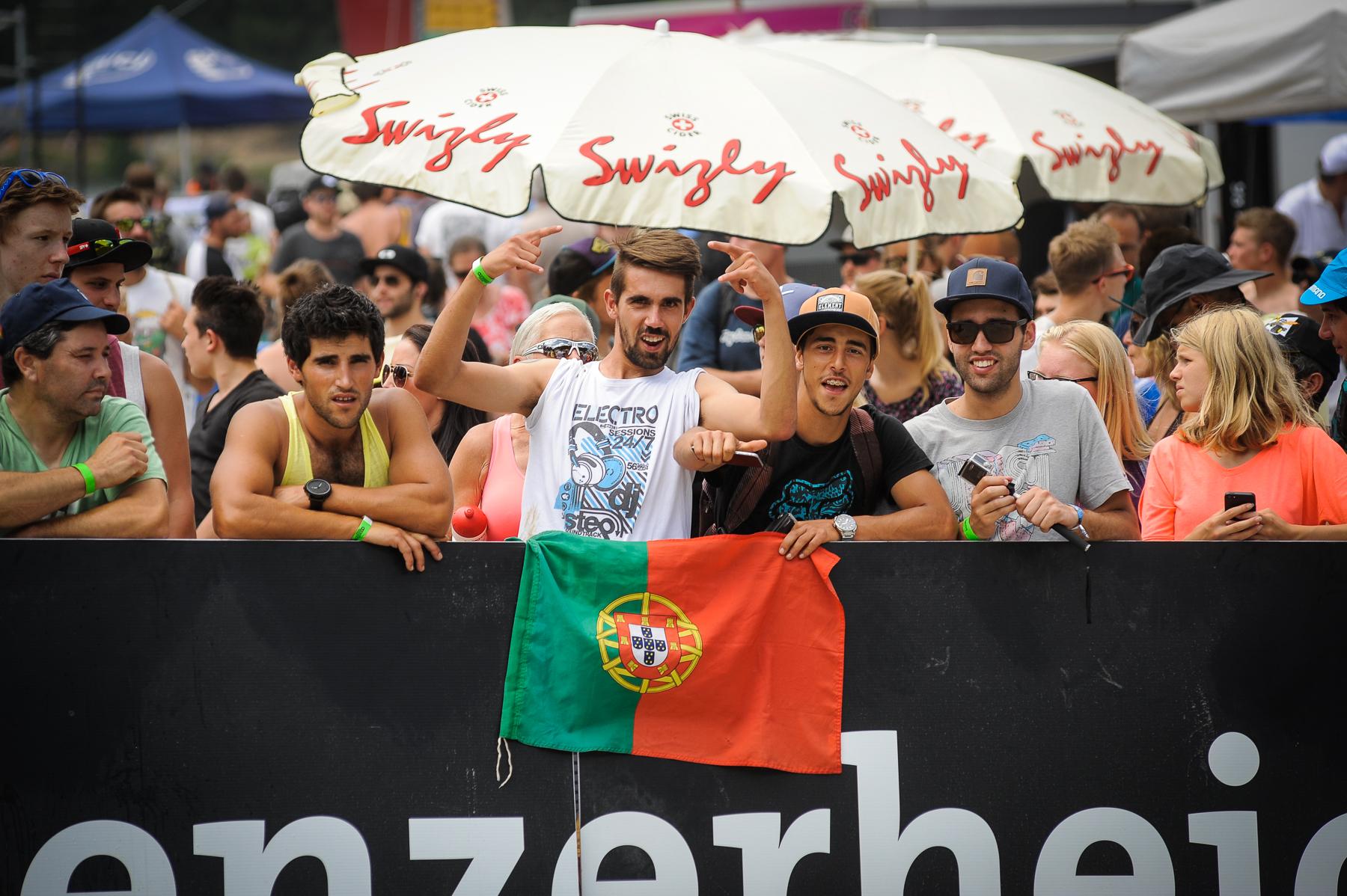 Ein paar Portugiesen waren ebenfalls am Start.