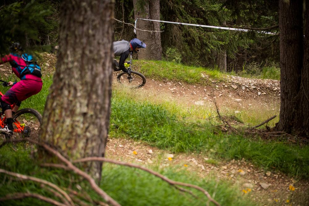 Kurvenfieber auf dem Furcia-Trail. TRAILTROPHY/Wisthaler.com-Schwienbacher