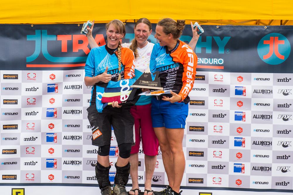 Sieger Best Team Women. TRAILTROPHY/Wisthaler.com-Schwienbacher
