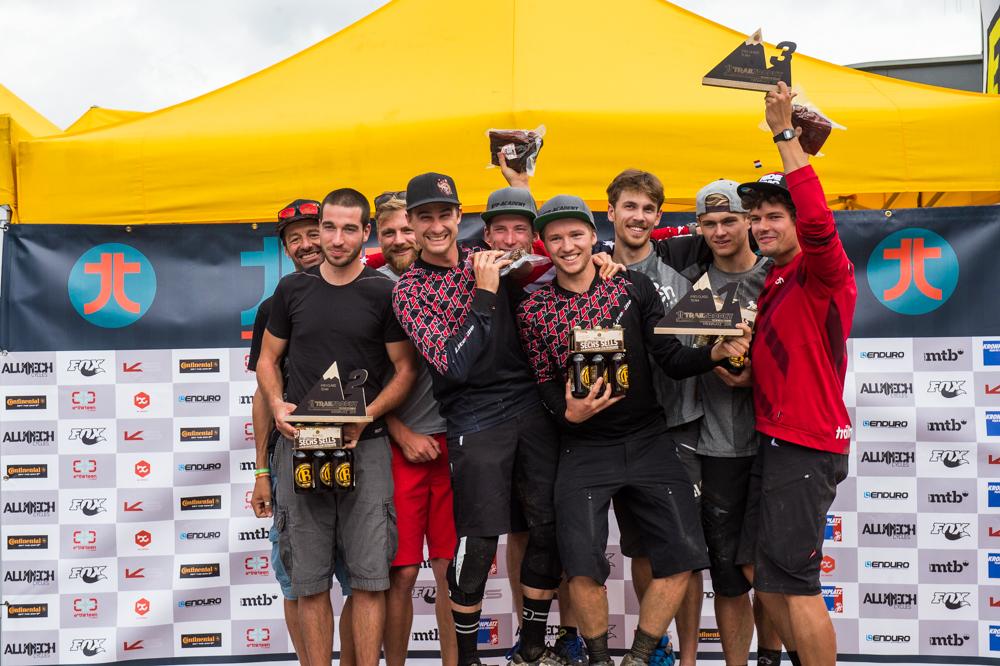 Sieger Pro Class Team. TRAILTROPHY/Wisthaler.com-Schwienbacher