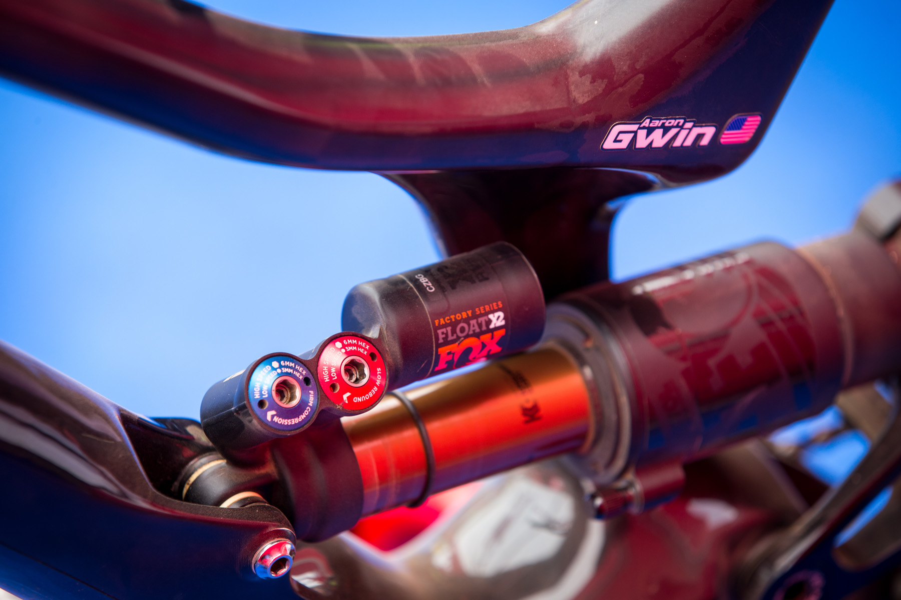 Aaron Gwin's Specialized Demo 2015