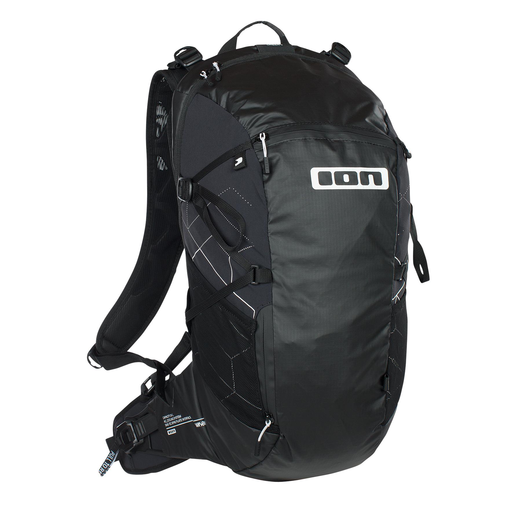 ION Backpack Transom (24 Liter), schwarz