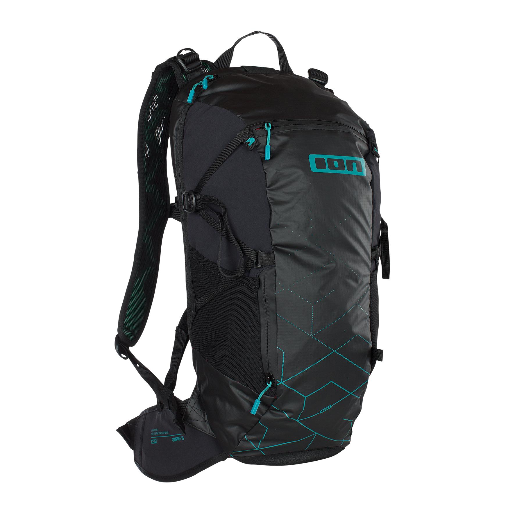 ION Backpack Rampart (16 Liter), schwarz