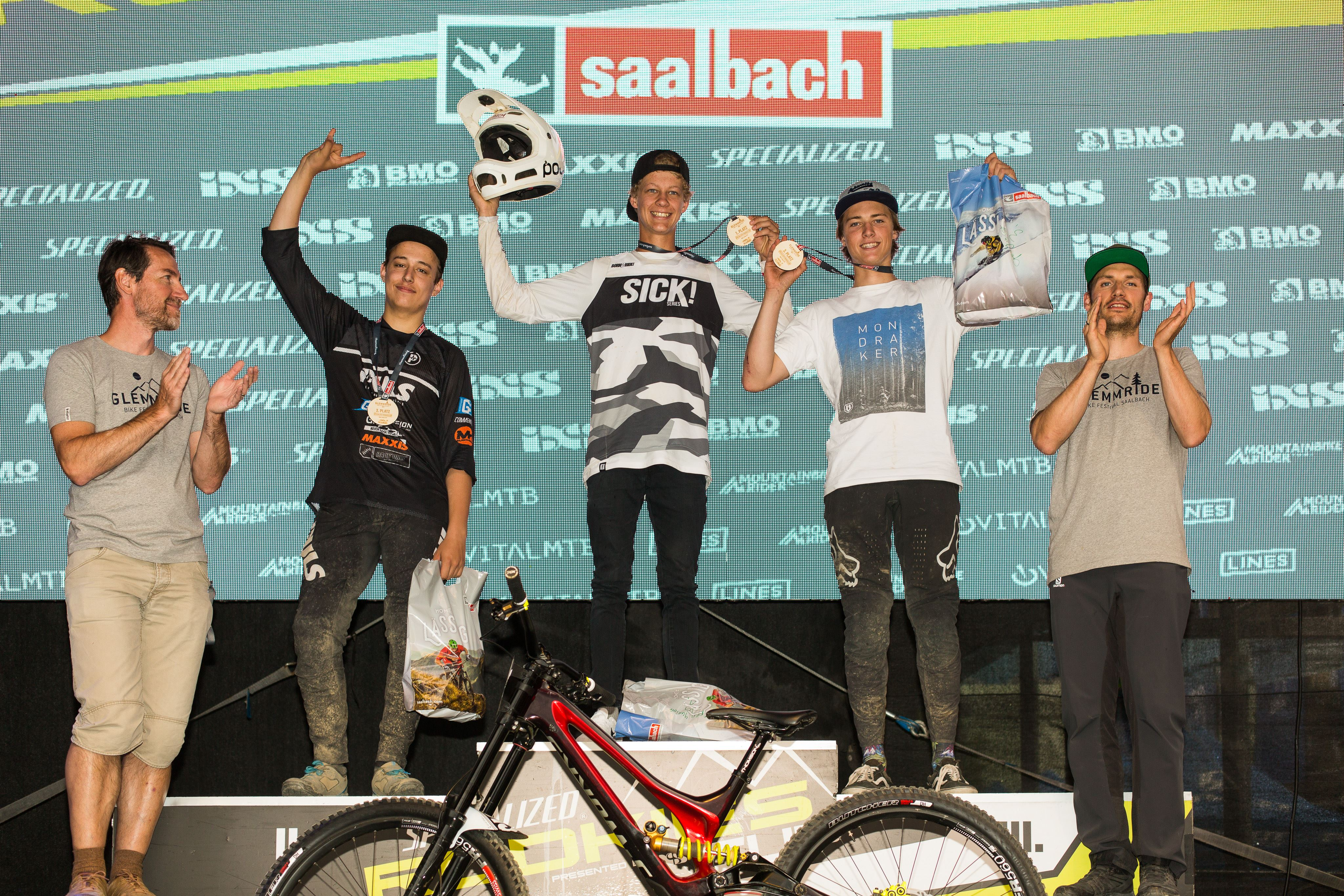 Podium Open Junior U19