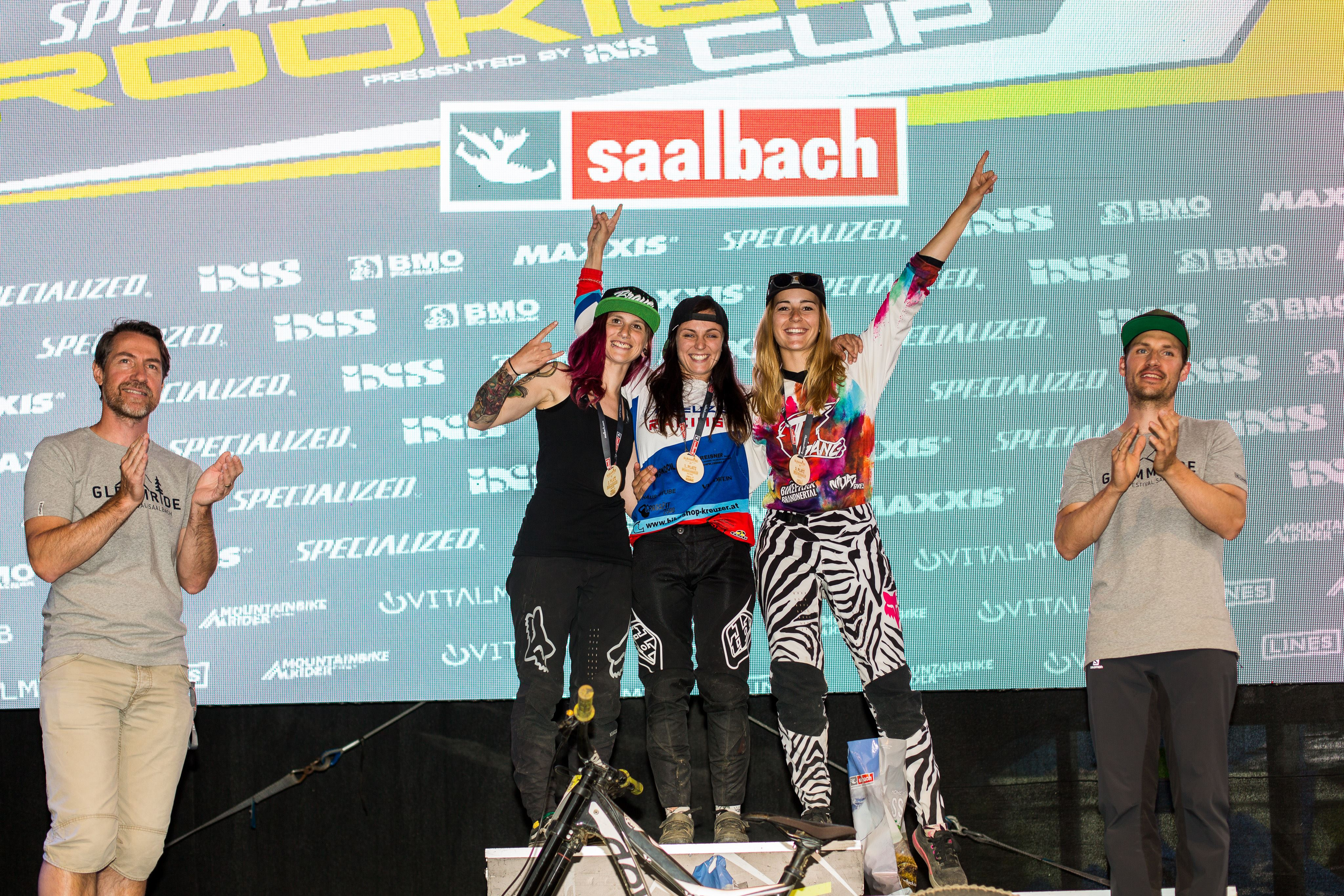Podium Open Women