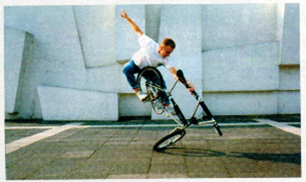 Ausgabe: Bernd Schneider war früher BMX-Profi, bevor er Zahnarzt wurde