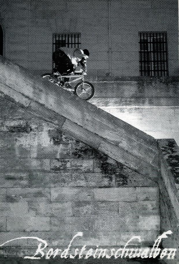 Ausgabe 22: Markus Wilke mit einem Feeblegrind in Montpellier, Frankreich