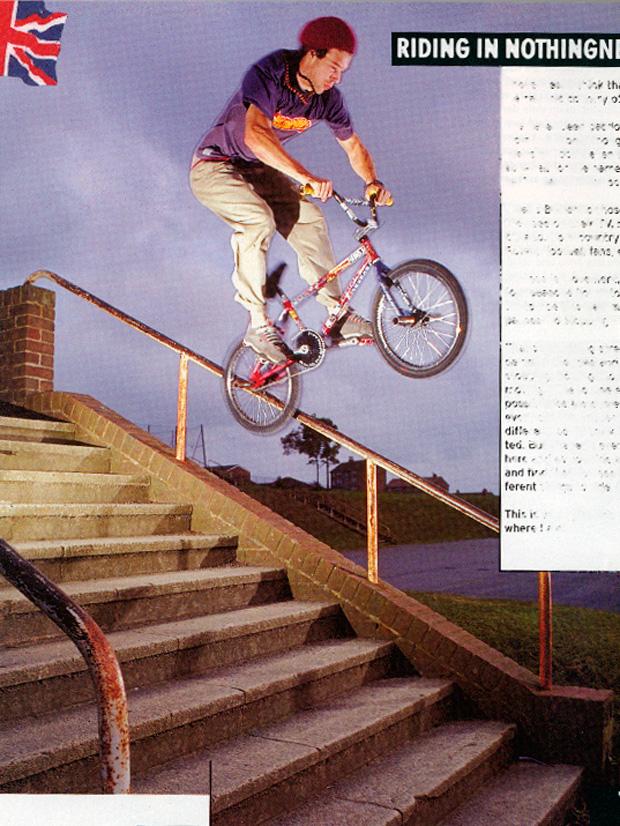 Ausgabe 31: Für unseren England-Szenebericht hat Dan Price dieses Rail in Hastings geicepickt. Heute macht er lieber Yoga