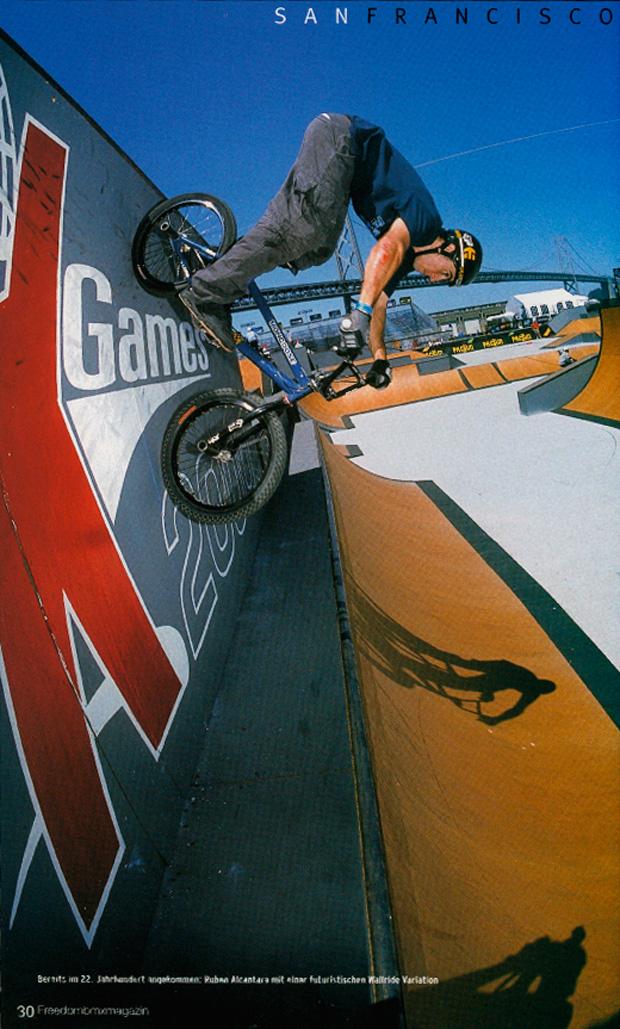 Ausgabe 36: Ruben Alcantara präsentierte auf den X Games 2000 in San Franzisko seine neuste Kreation