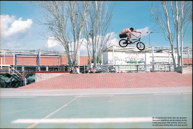 Ausgabe 99: Manual Mike aka Railhop Mike an der Berufsschule von Sevilla