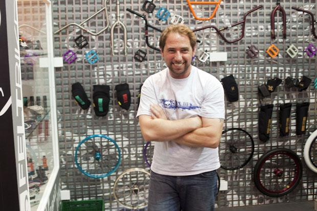 Bodo Hellwig, die BMX-Seele bei Sport Import