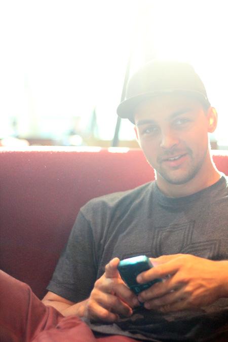 Marc Remmert ist gerade auf der Interbike, um neue Teamfahrer für Dev.-Clothing anzuwerben