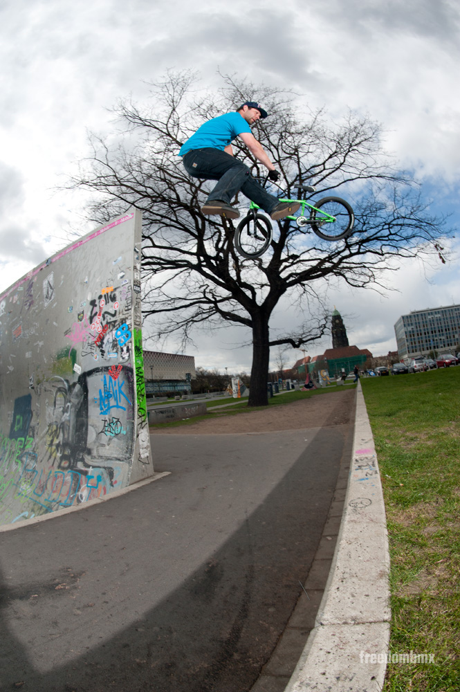 Tobias Wicke freedombmx Springbreak