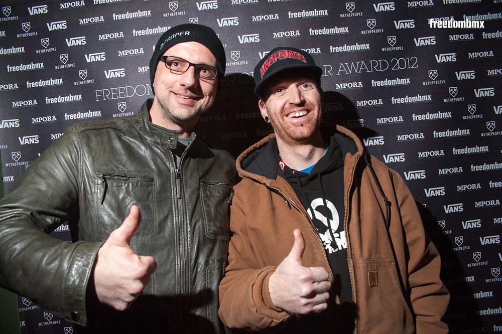 Team G(&)S: Michael Schaak und Zakk Enghagen