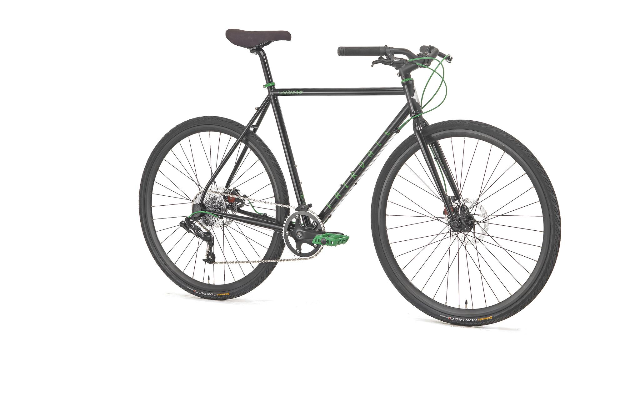 Fairdale-Bikes-Weekender-schwarz-grün