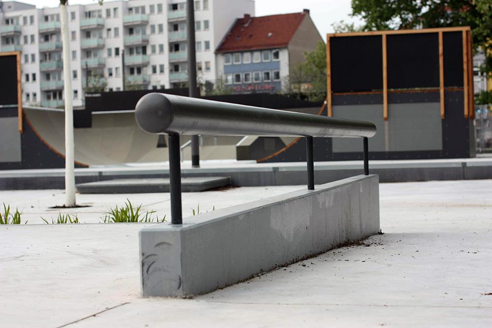 Kesselbrink-Skatepark-Bielefeld-Rail