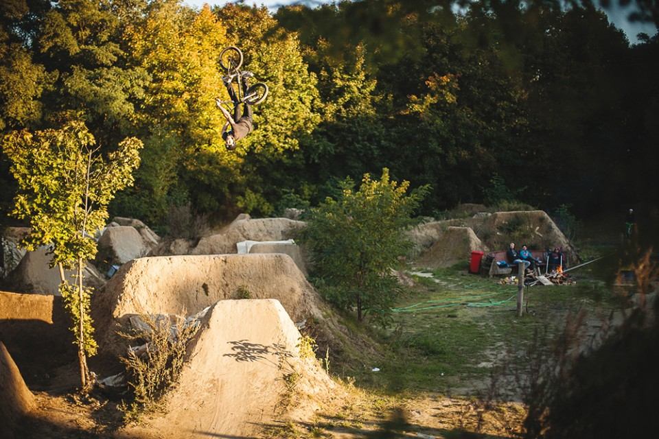 Robert Kröning Turndown Backflip Mellowpark Trails